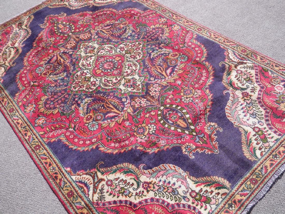 Extremely Gorgeous Semi Antique Persian Tabriz 8.2x4.9 - 2