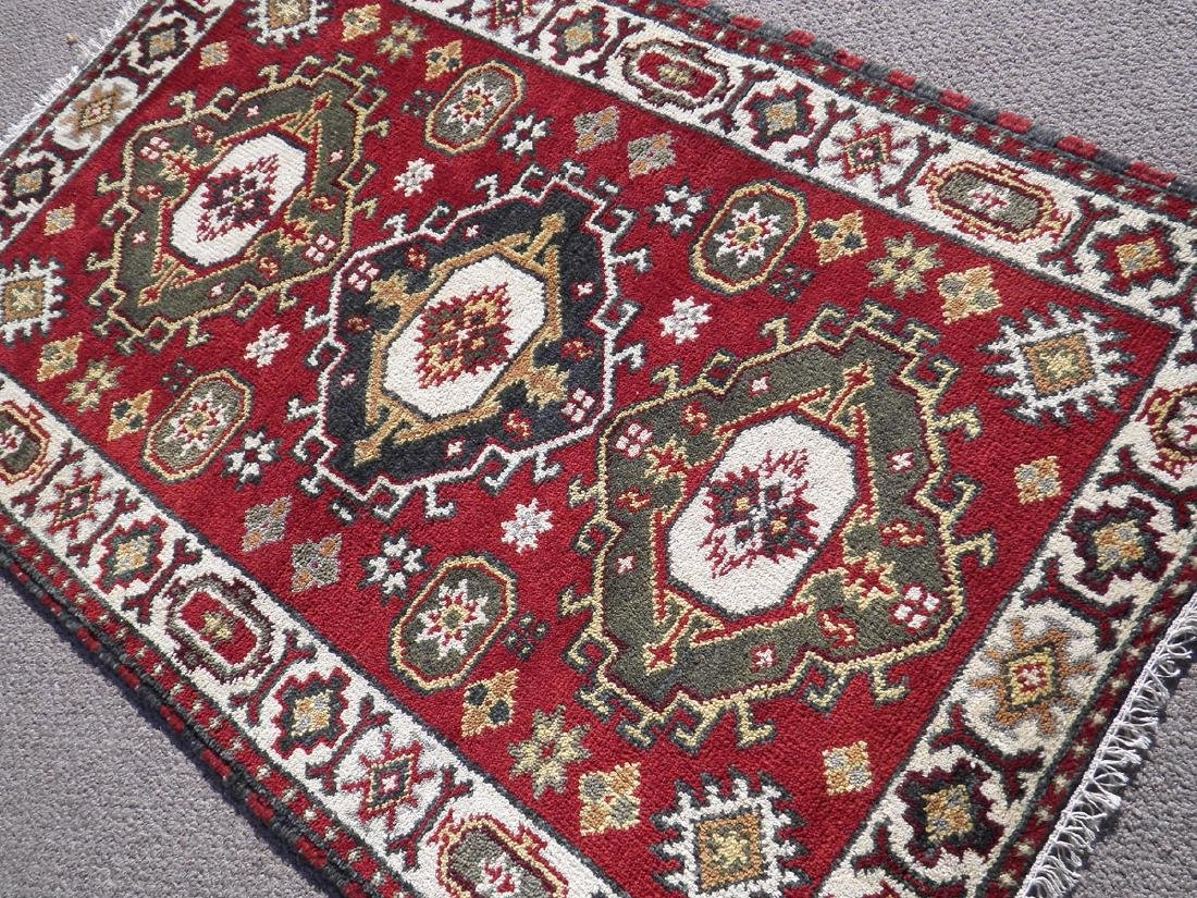 Beautiful Handmade Kazak Design 4.11x3.1 - 2