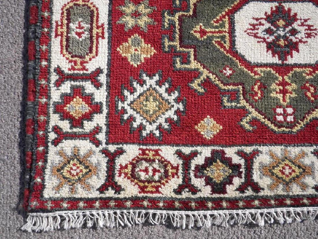 Beautiful Handmade Kazak Design 4.11x3.1 - 3