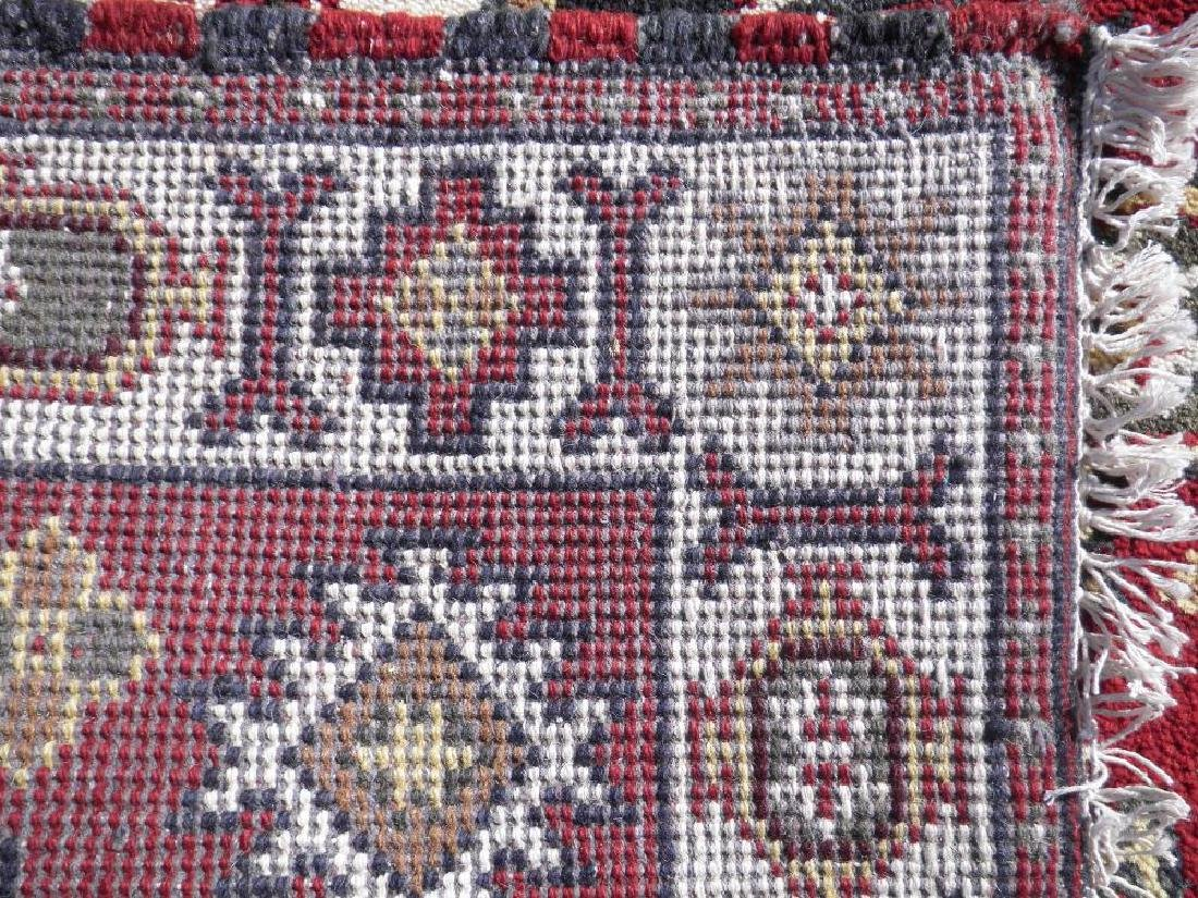 Beautiful Handmade Kazak Design 4.11x3.1 - 4