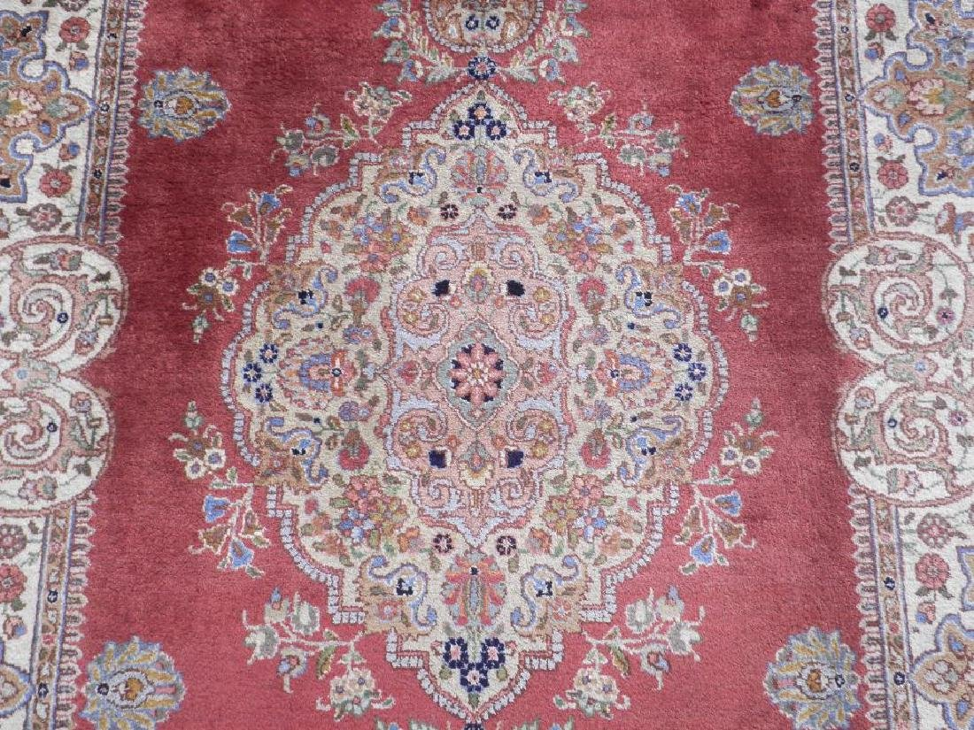 Fine Semi Antique Open Field Persian Tabriz 10.3x7.7 - 4