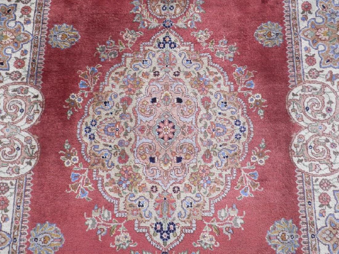 Fine Semi Antique Open Field Persian Tabriz 10.3x7.7 - 4