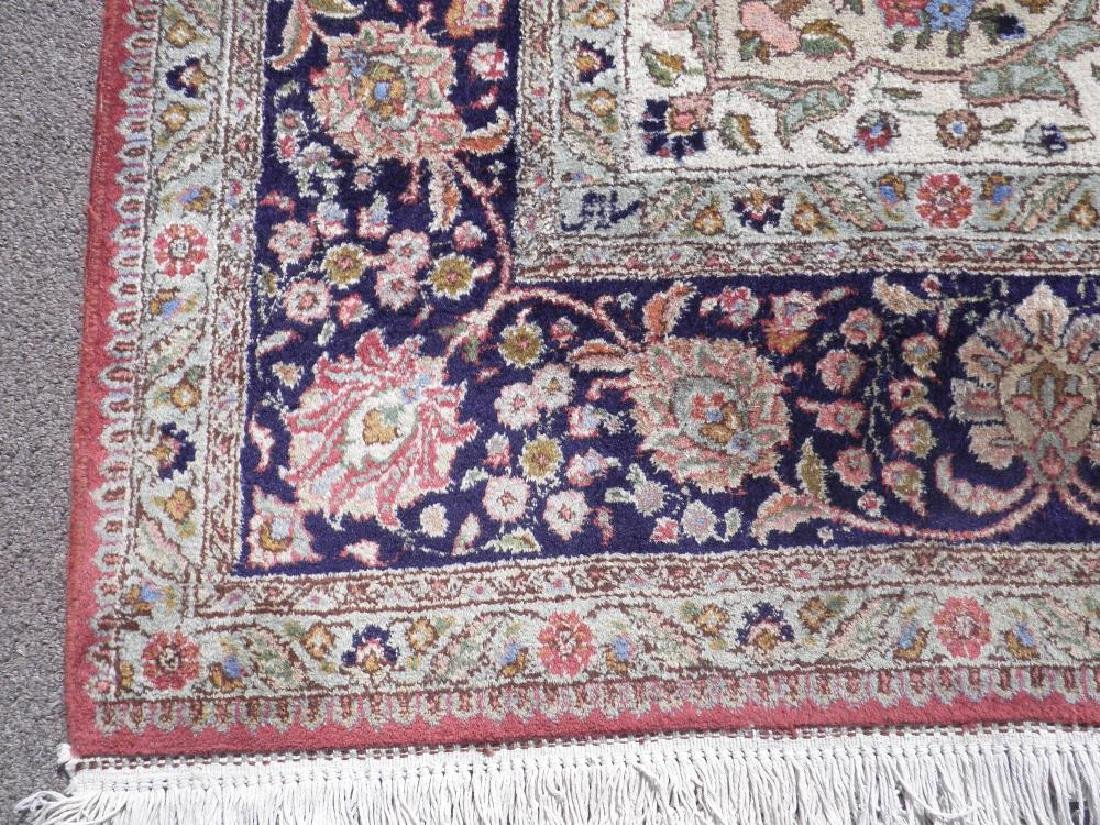 Fine Semi Antique Open Field Persian Tabriz 10.3x7.7 - 5
