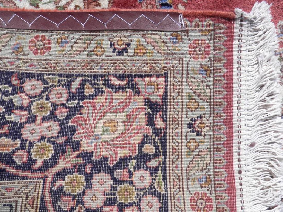 Fine Semi Antique Open Field Persian Tabriz 10.3x7.7 - 6