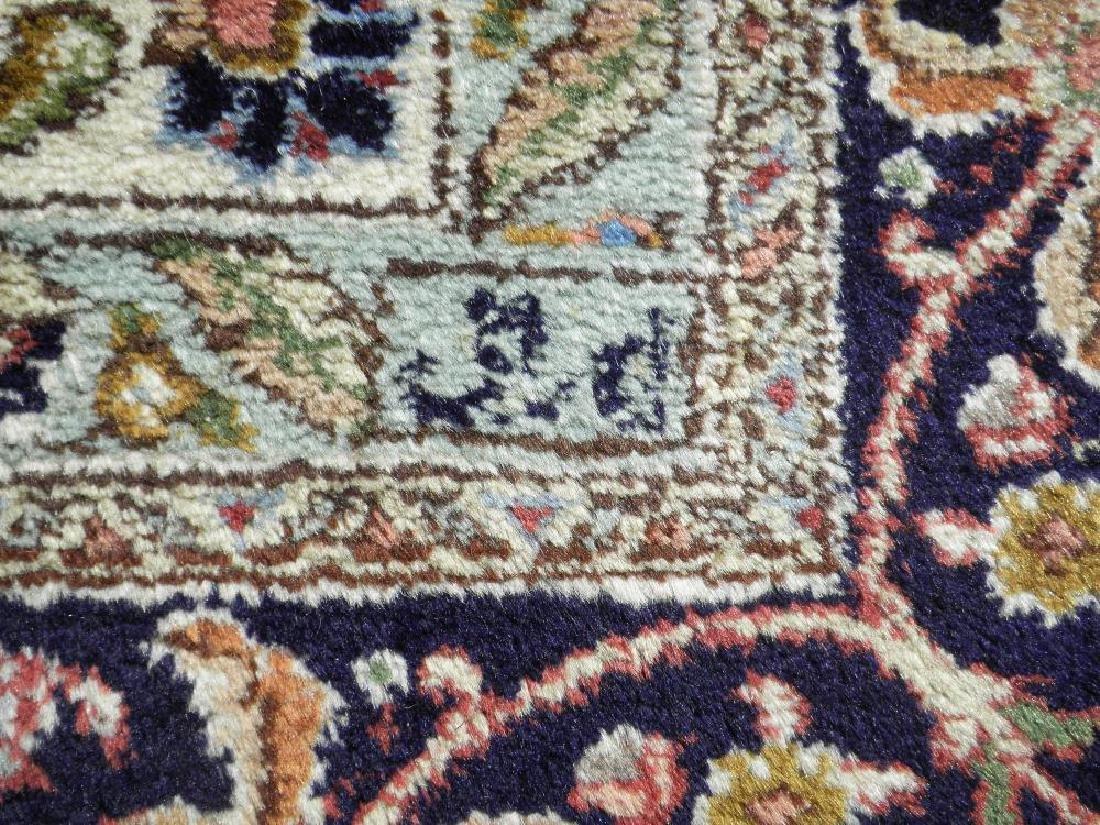 Fine Semi Antique Open Field Persian Tabriz 10.3x7.7 - 7