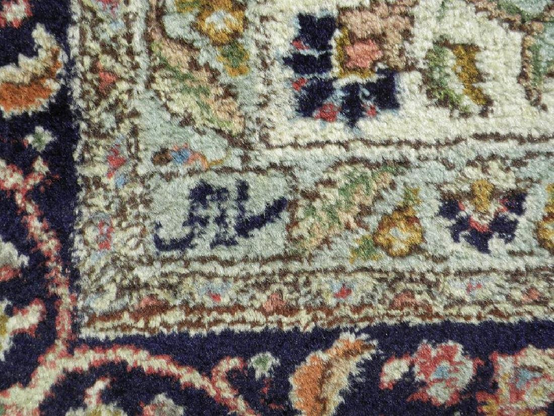Fine Semi Antique Open Field Persian Tabriz 10.3x7.7 - 8