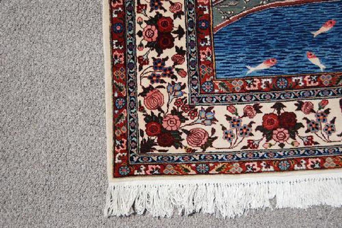 SPLENDID AND ENCHANTING FINE PERSIAN SAROUK PICTORIAL - 3