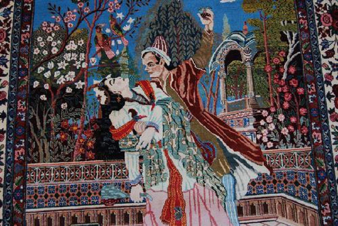 SPLENDID AND ENCHANTING FINE PERSIAN SAROUK PICTORIAL - 4