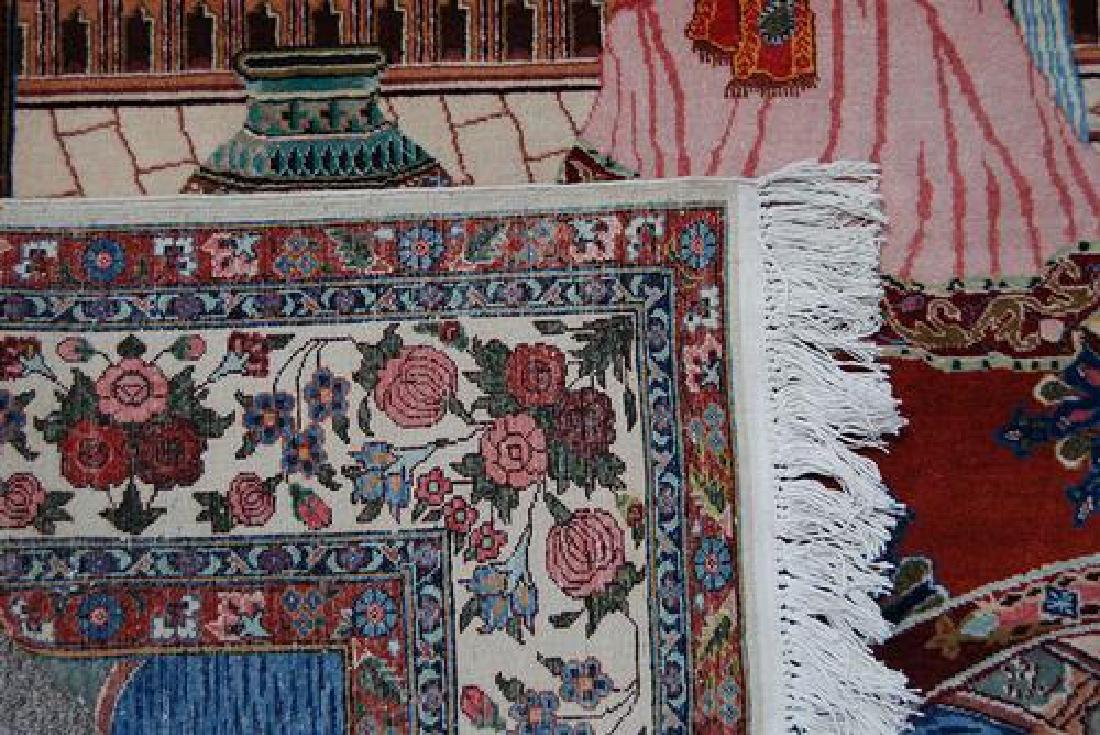 SPLENDID AND ENCHANTING FINE PERSIAN SAROUK PICTORIAL - 5