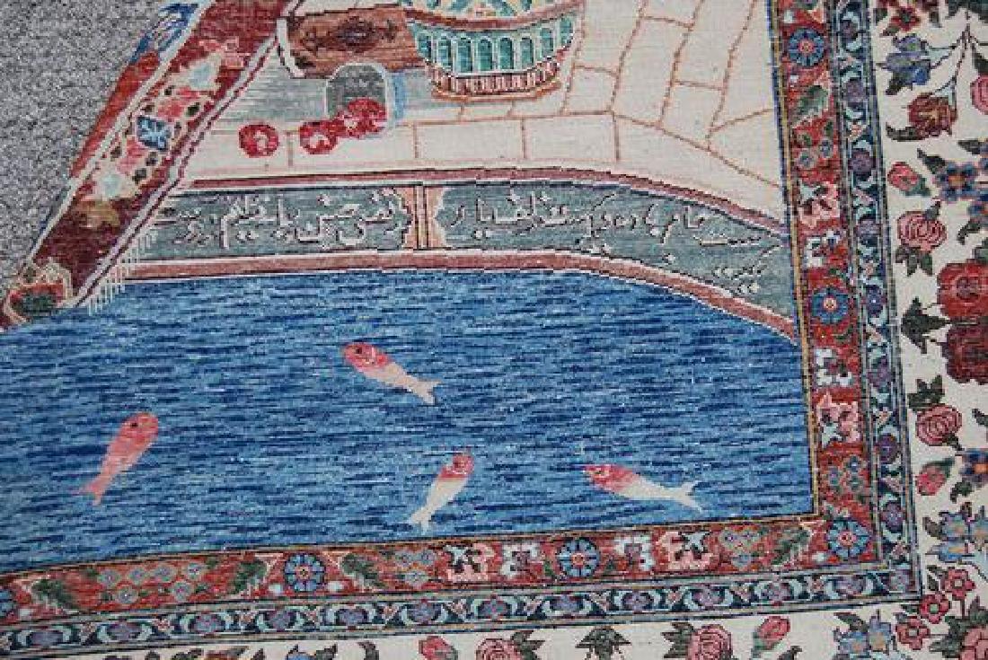 SPLENDID AND ENCHANTING FINE PERSIAN SAROUK PICTORIAL - 6