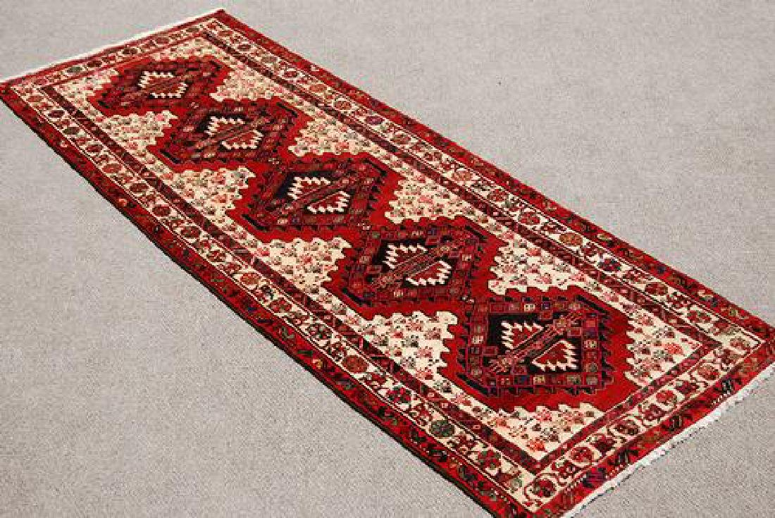Visually Appealing Hand Woven Semi Antique Persian