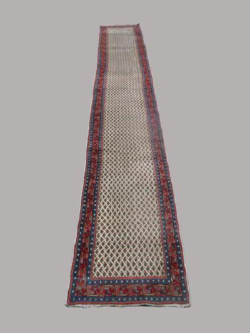 Finely Done Glorious 2.11 X 21 feet Persian Mir Runner