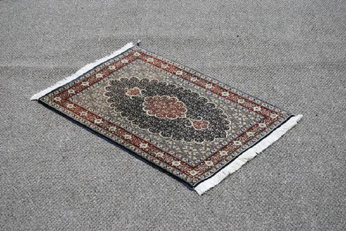 Exquisite Fine Quality Handmade Persian Tabriz Rug on