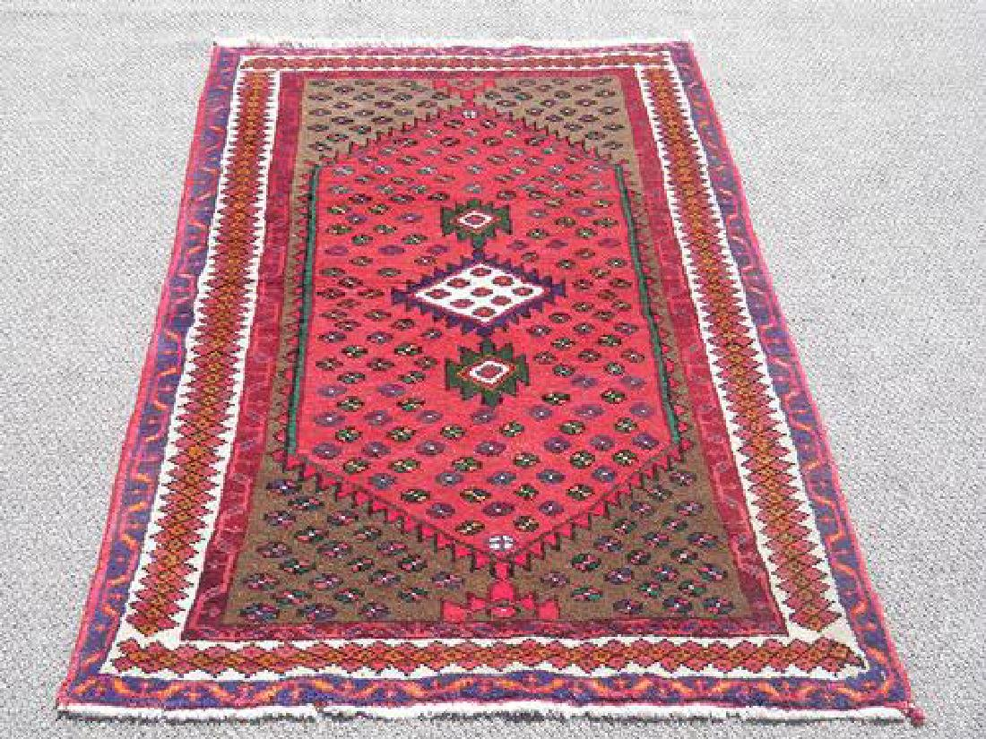 Rare Hand Woven Persian Hamadan 5x3.1