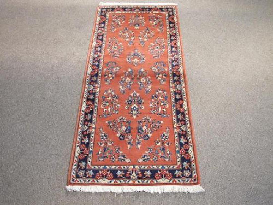 Beautifully Design Semi Antique Persian Sarouk 6.5x2.8