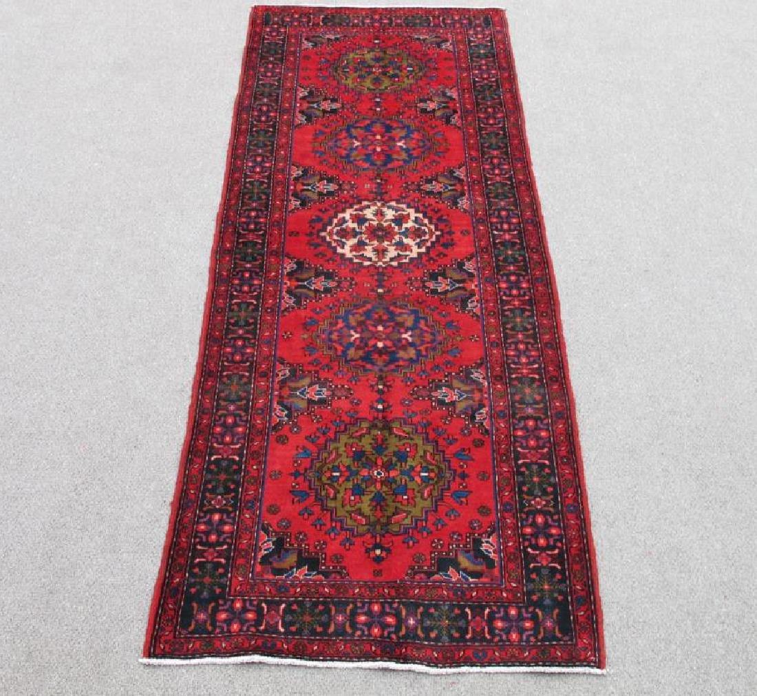 Stunning Hand Woven Semi Antique Persian Hamadan Rug
