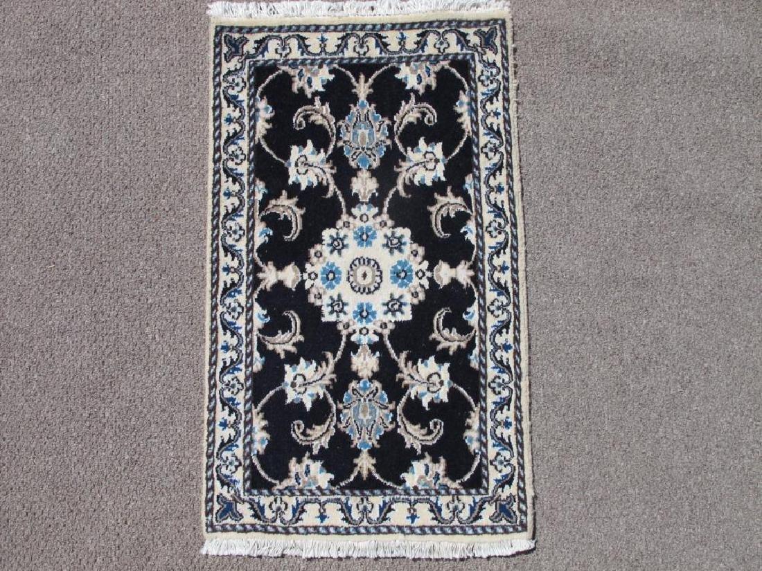 Highly Collectible Handmade Wool/Silk Persian Nain