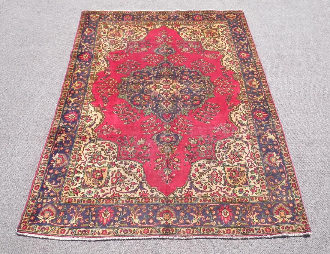 Absolutely Enchanting Semi Antique Persian Tabriz