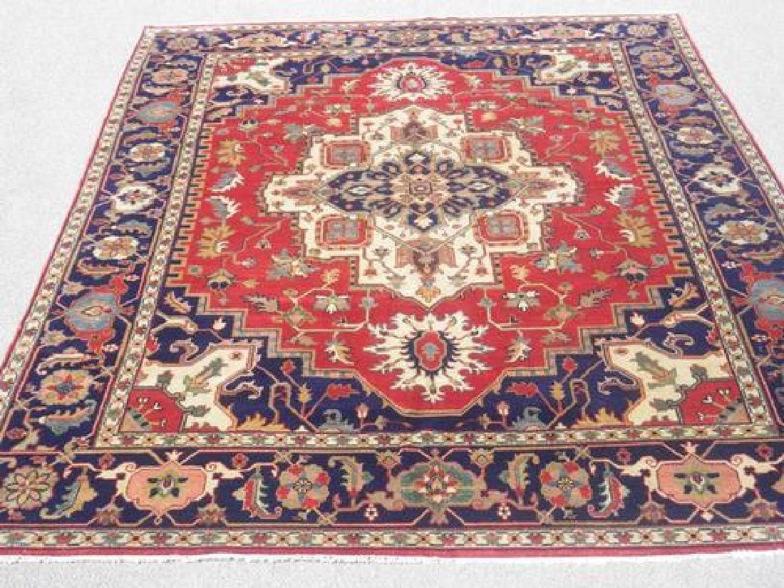Stunning Genuine Hand Knotted Wool Persian Heriz Serapi