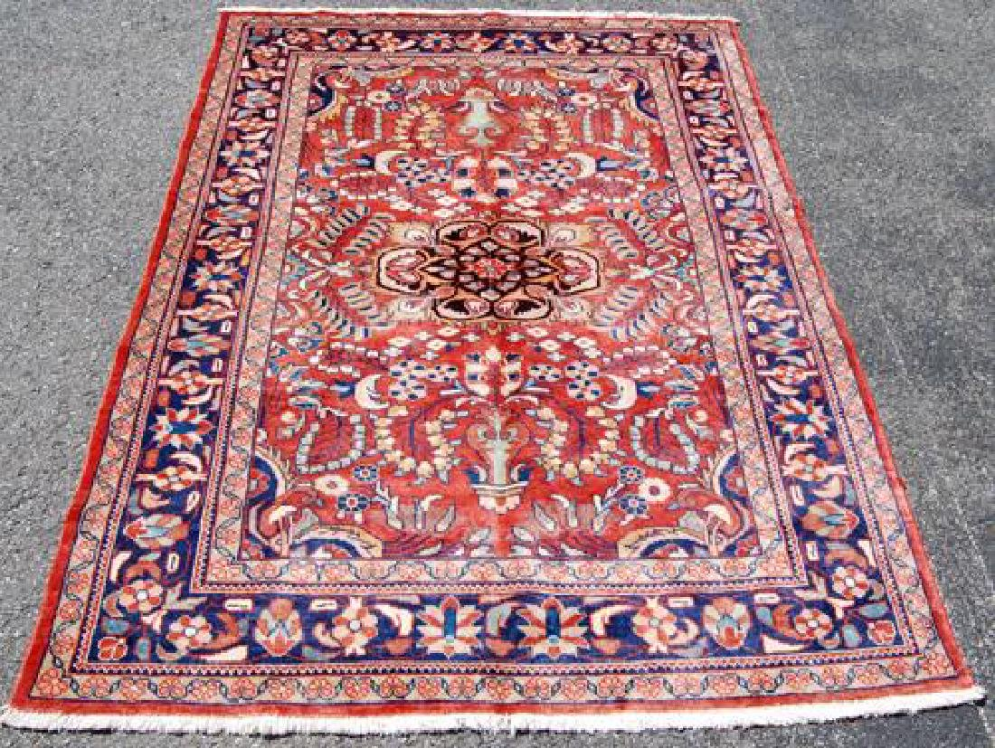 Simply Beautiful Semi Antique Floral Design Persian