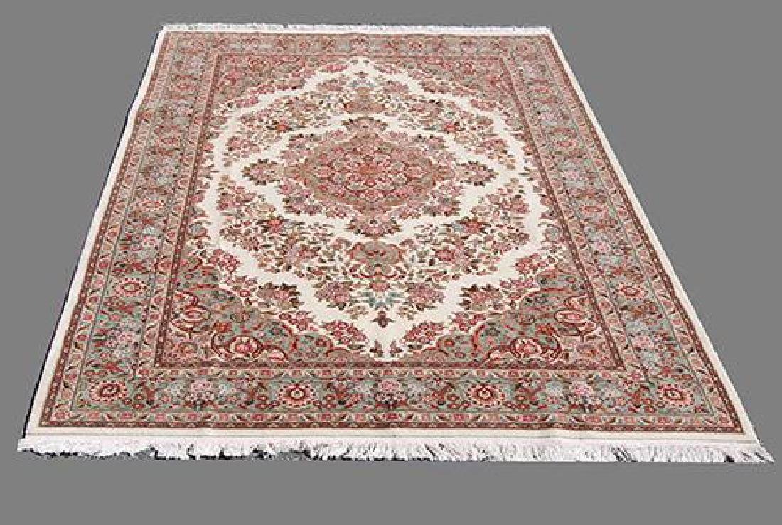 Hand Made Floral Design Persian Tabriz 6x9