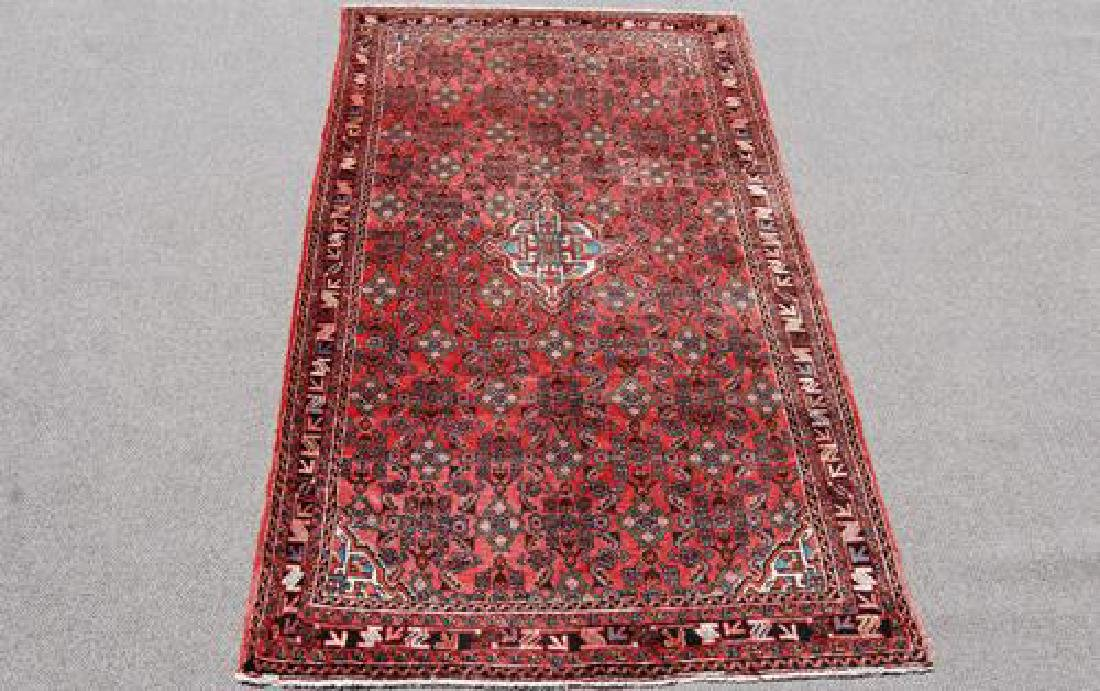 Fine Looking Semi Antique Persian Hosseinabad