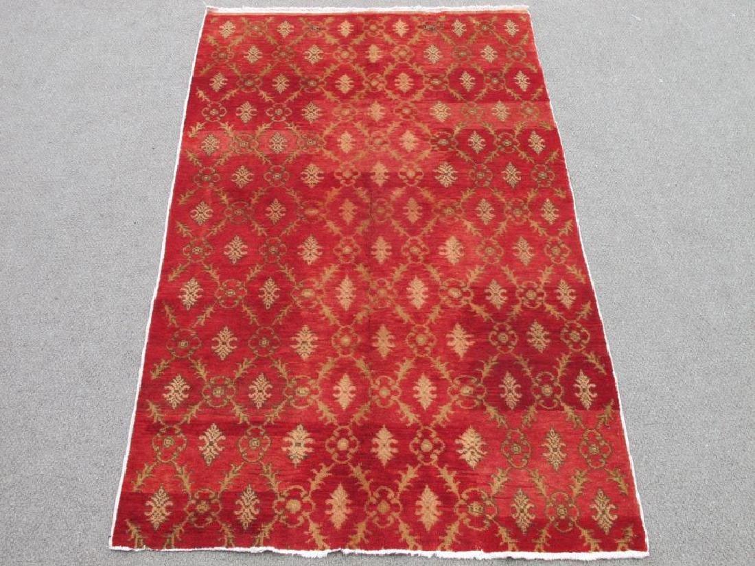 Gorgeous Nice Colors Handmade Semi Antique Turkish