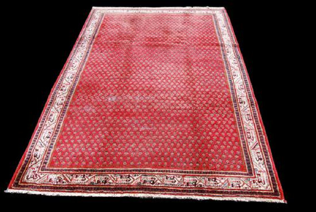 Herat Oriental Semi-Antique 1960's Indo Hand-Knotted