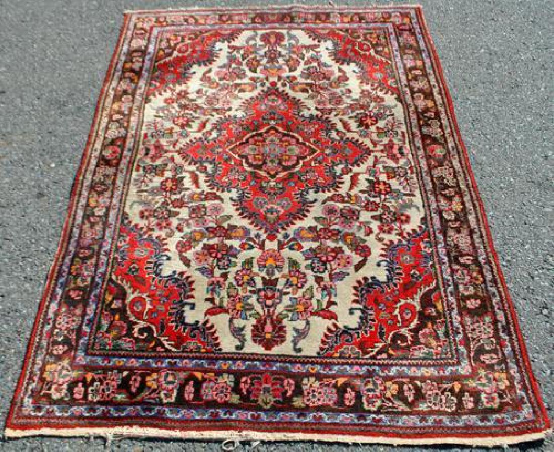 Fine Looking Semi Antique Hand Woven Persian Lilian