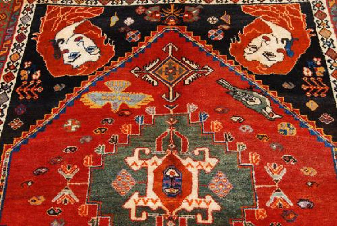 SUPER QUALITY HAND MADE FINE SEMI ANTIQUE GHASHGHAEE - 4