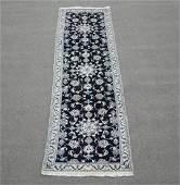 Handmade WoolSilk Persian Nain 9x27