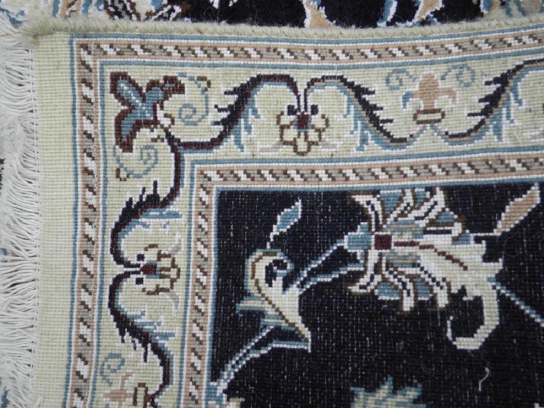 Handmade Wool/Silk Persian Nain 9x2.7 - 5