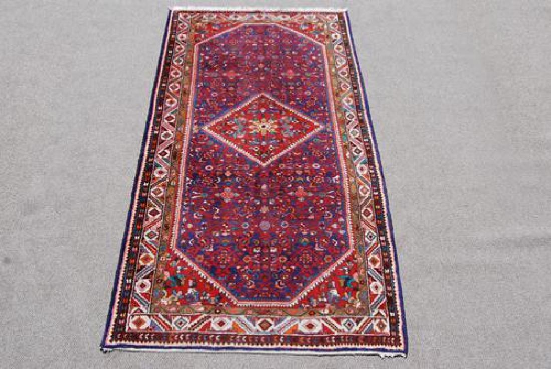 Very Beautiful Semi-Antique Persian Sarouk 5.6x11.0