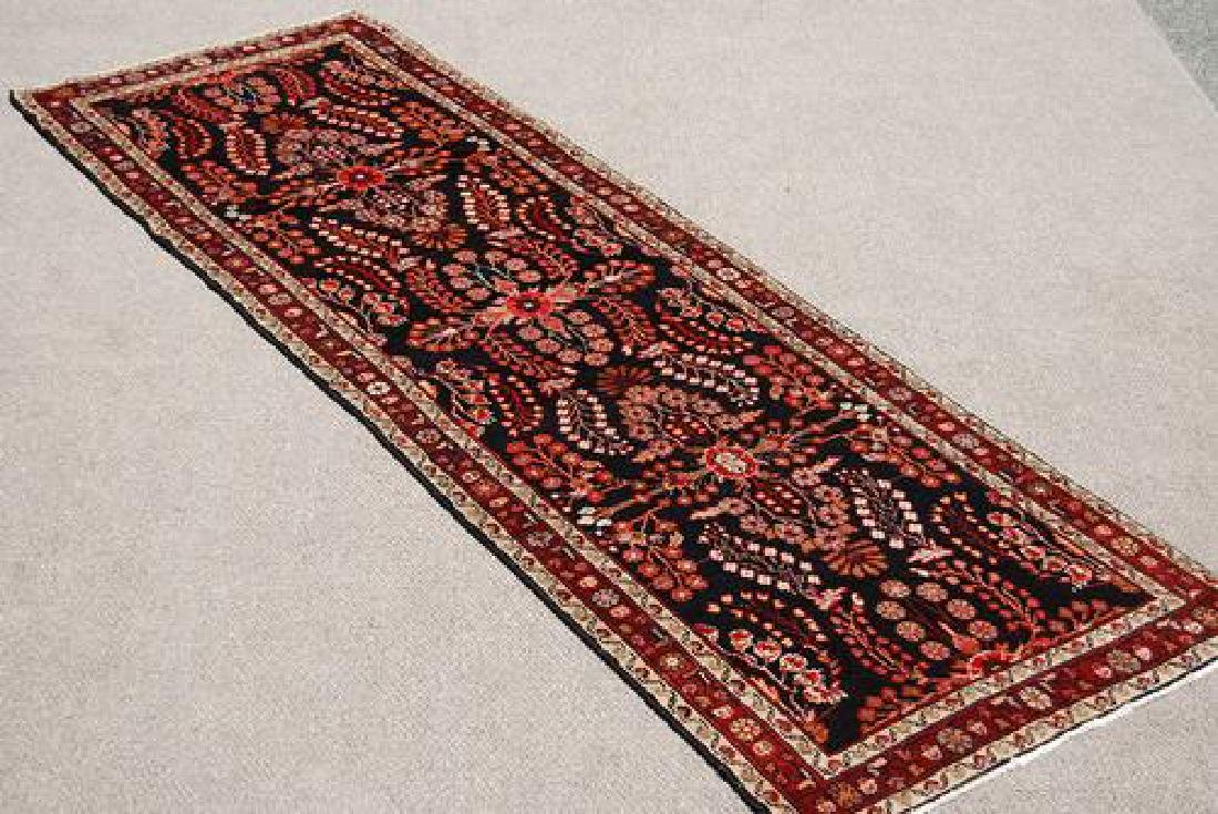 SEMI ANTIQUE HAND WOVEN HAMADAN RUNNER