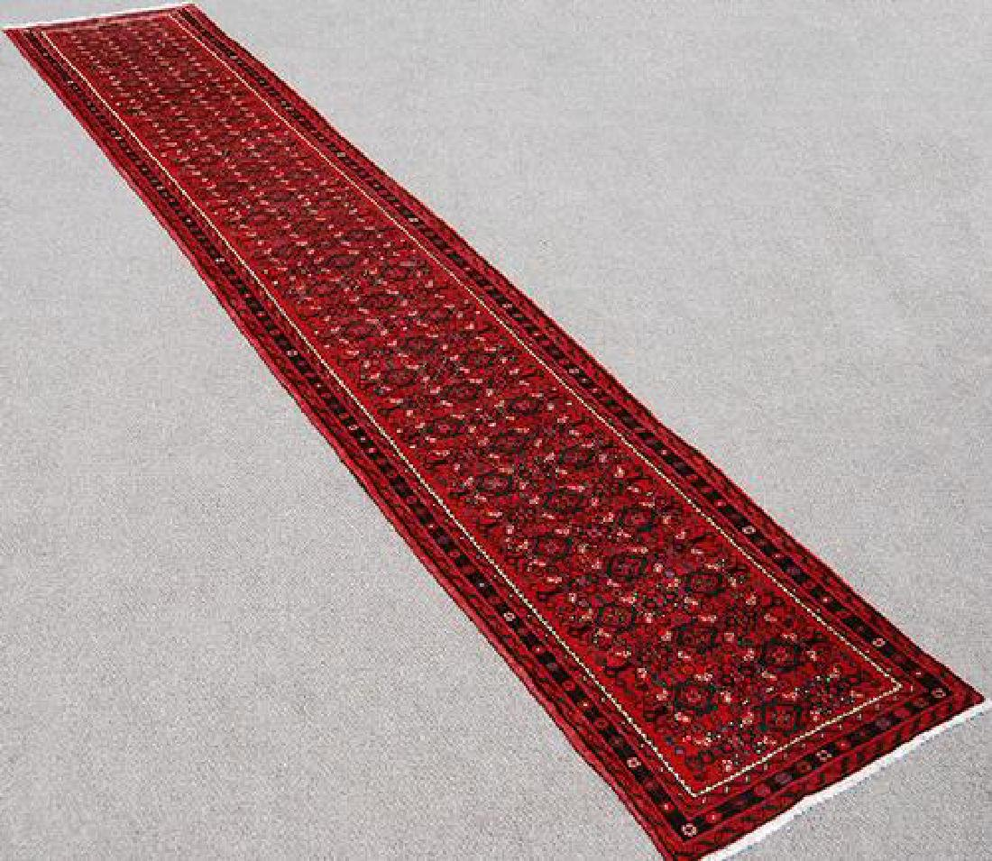 16' Authentic Hand Woven Persian Hossienabad Runner