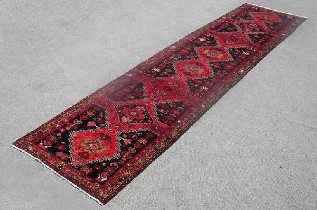 Lovely All Natural Hand woven Persian Zanjan Runner