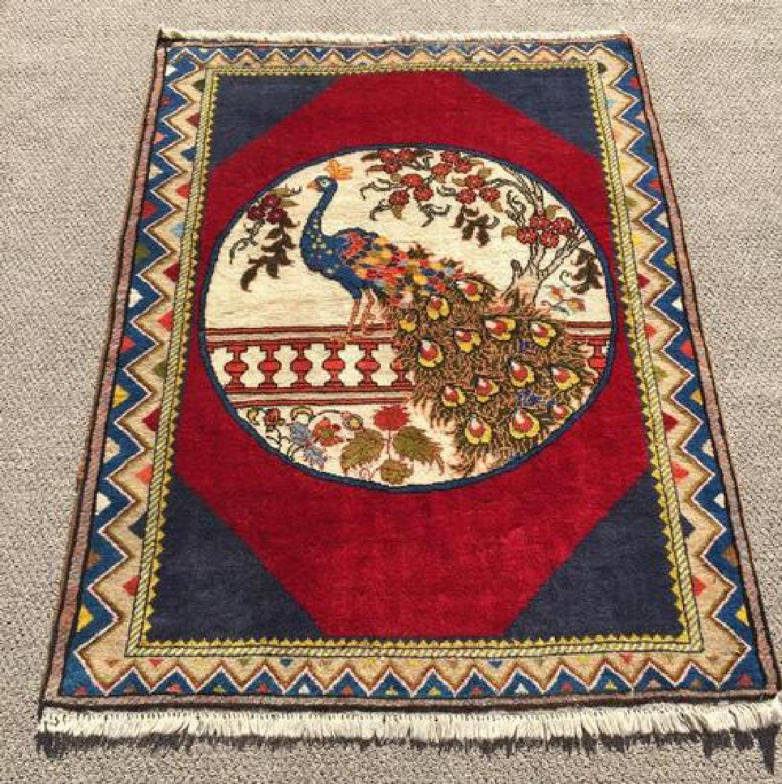 Lovely All Natural Hand woven Persian Arak Rug