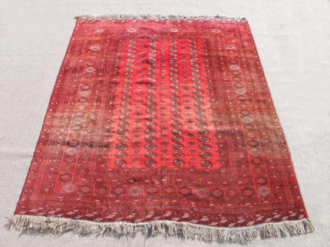 Very Beautiful Semi Antique Afghan Turkmen Design