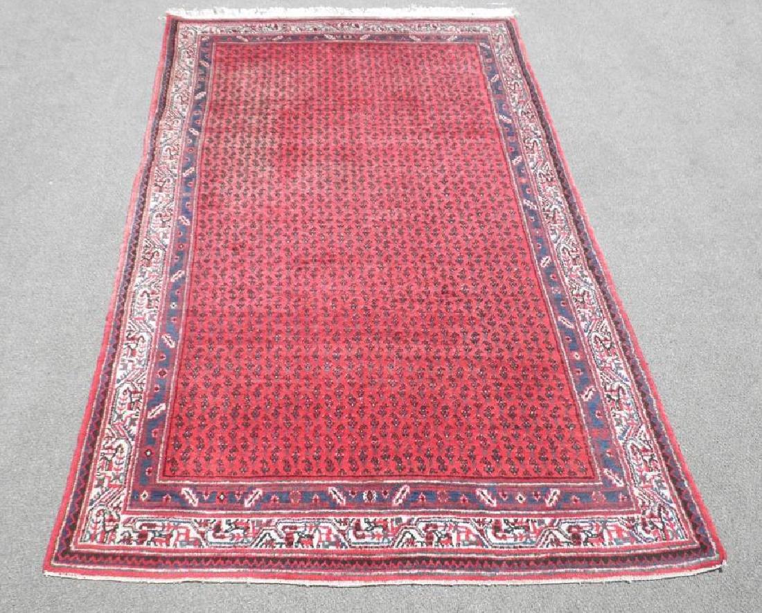 Simply Splendid Handmade Semi Antique Persian Sarouk