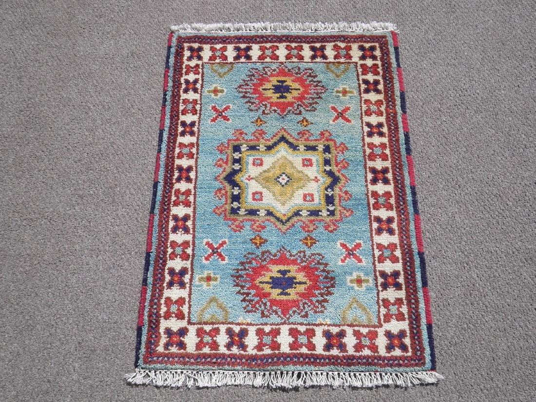 Gorgeous Handmade Kazak Design 2x3