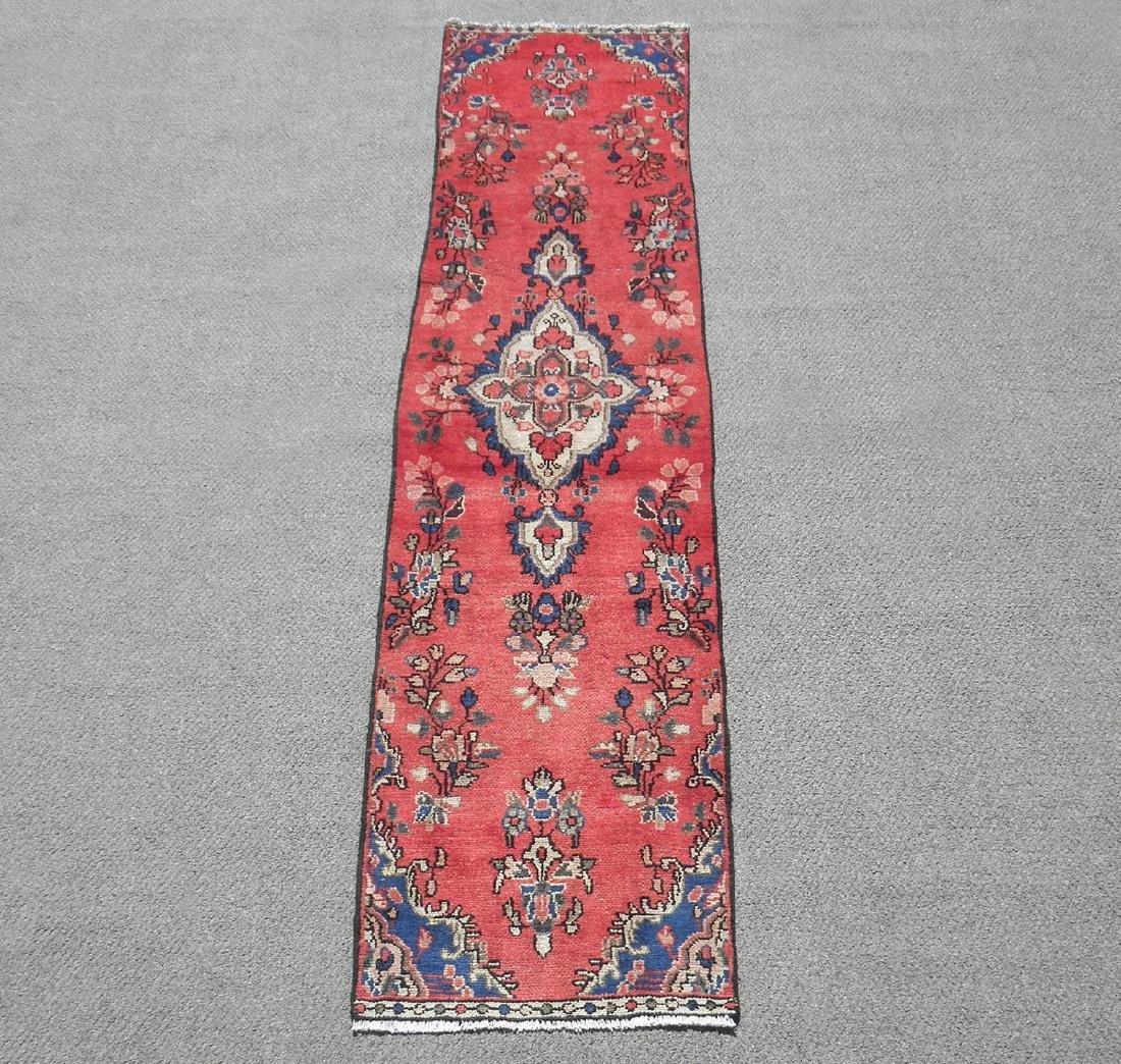 Hand Woven Semi Antique Persian Hamadan 2x9.2