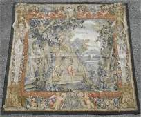 Extremely Rare Masterpiece European Design Tapestry 6x6