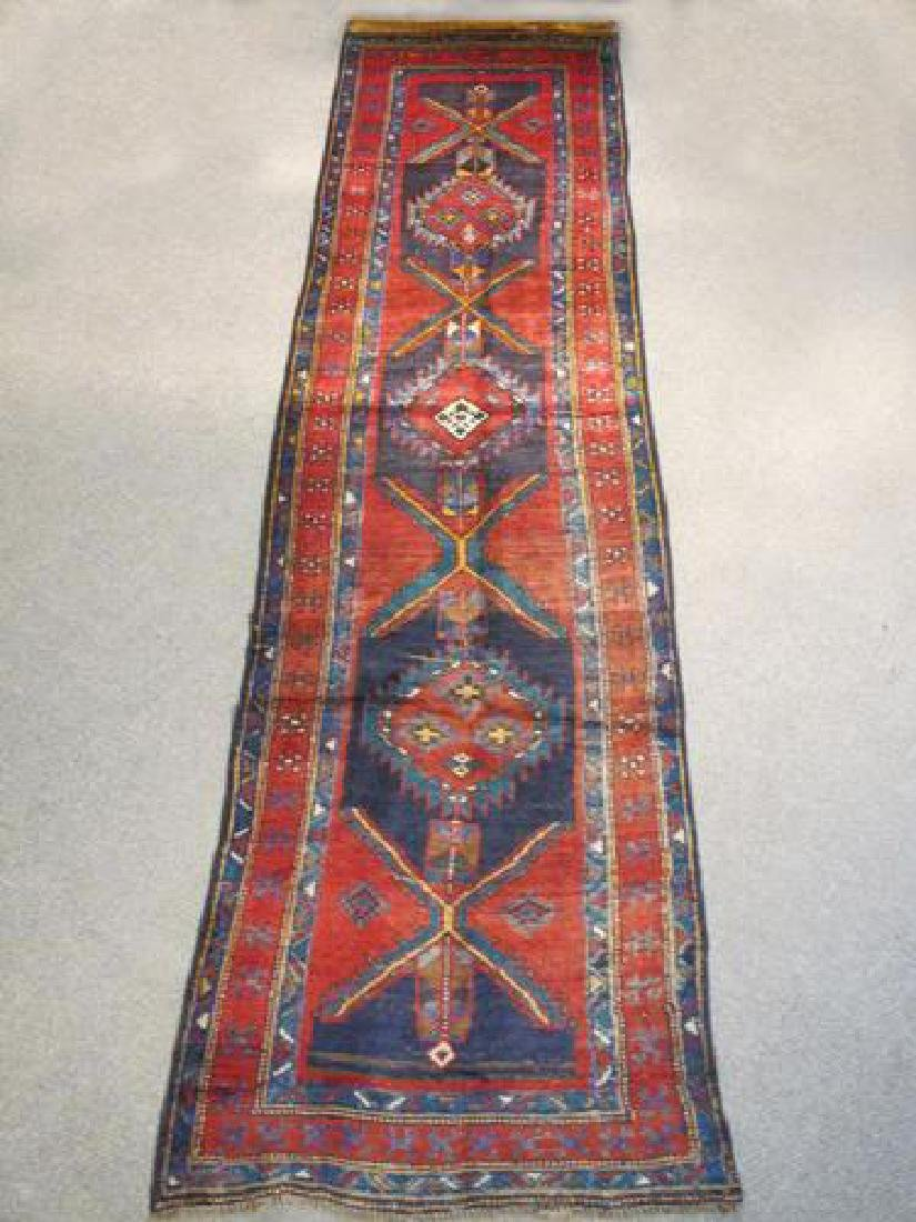 Outstanding Dark Toned Semi Antique Persian Kurdish