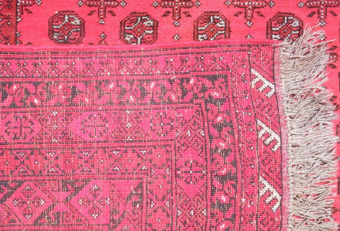 Finely Knotted Delicate Wool on Wool Semi Antique - 5