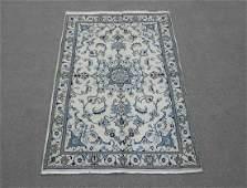 Handmade WoolSilk Persian Nain 70x50