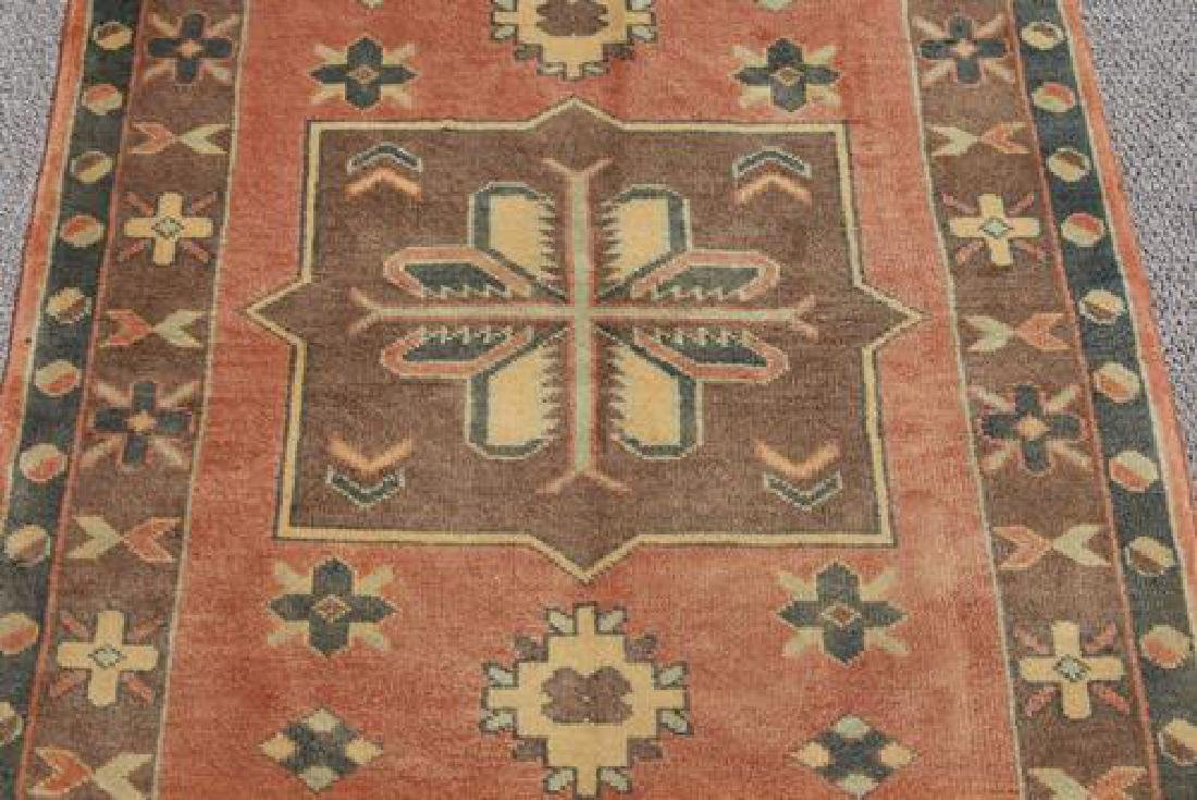 BEAUTIFUL HANDMADE SEMI ANTIQUE TURKISH KONYA RUG - 2