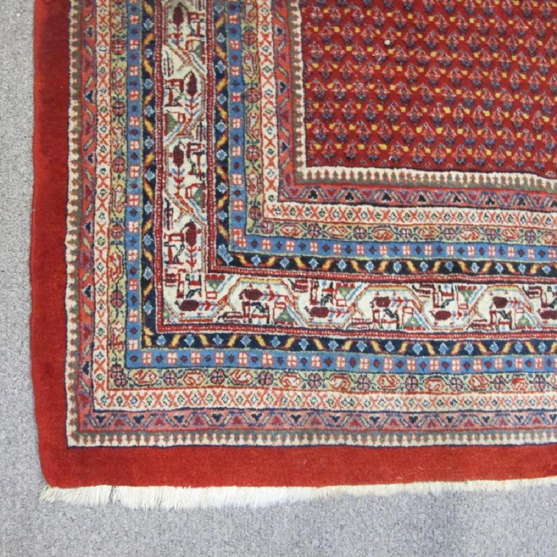 Spectacular Masterpiece Semi Antique Persian Sarouk Mir - 2