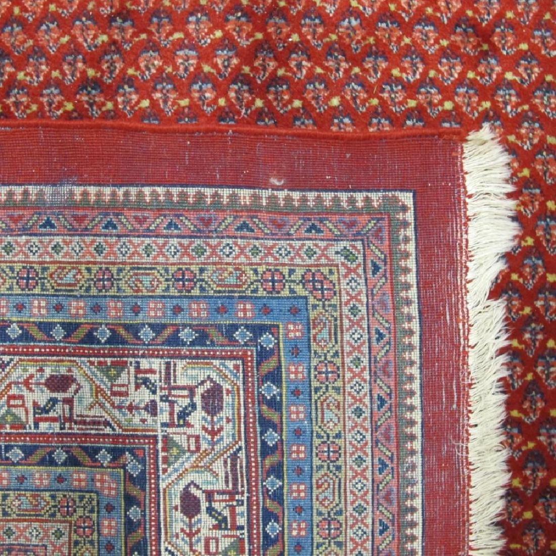 Spectacular Masterpiece Semi Antique Persian Sarouk Mir - 4