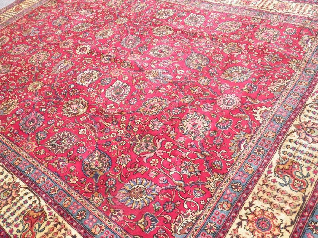 Fascinating Semi Antique All Over Persian Tabriz - 2