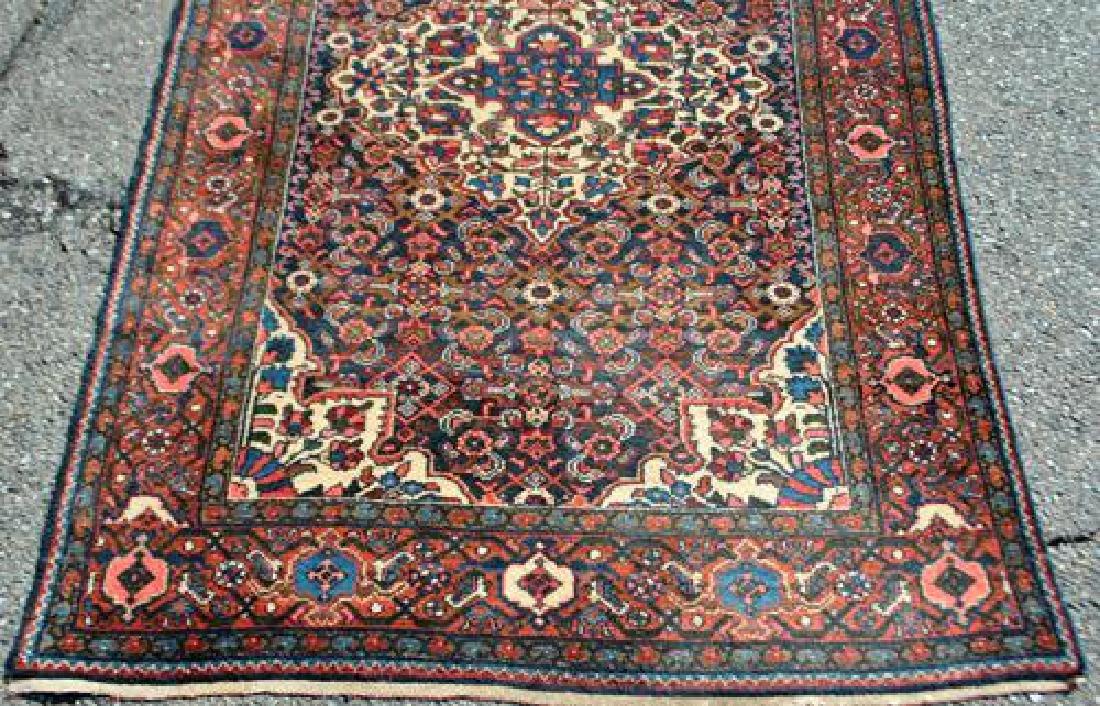 Semi Antique Persian Malayer Handmade Rug - 3